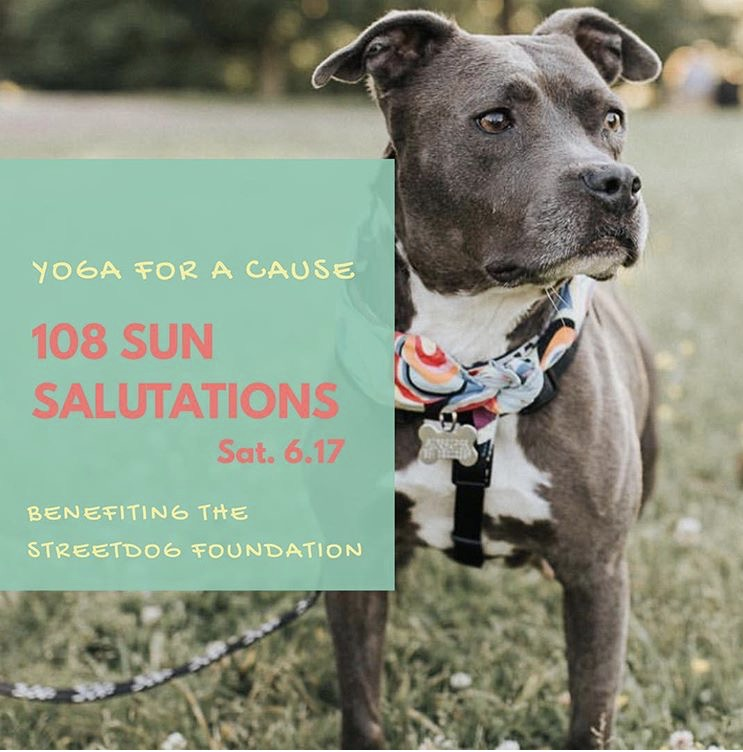 108 Sun Salutations Yoga for a Cause