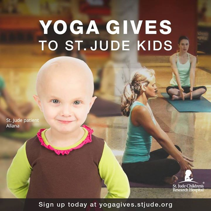 St. Jude's Yoga Give Memphis