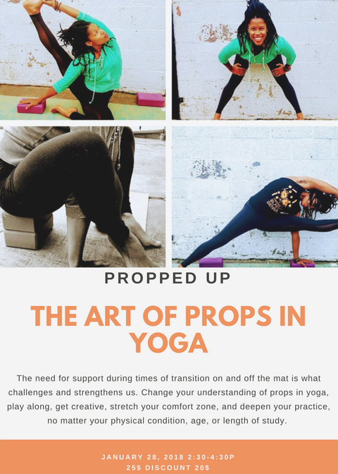 Propped Up-The Art of Props in Yoga